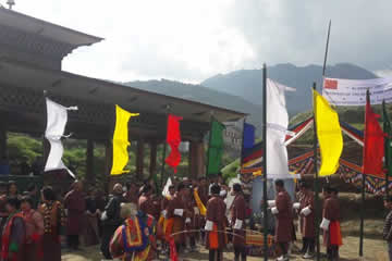 Archery - National Game of Bhutan